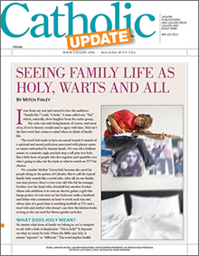 Seeing Family Life As Holy